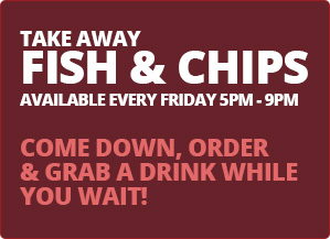 Order your Fish and Chips at the bar and have a drink while you wait